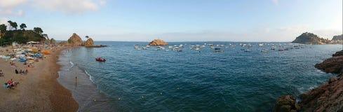 Sikt på hav Arkivfoto
