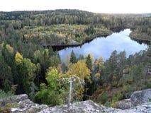 Sikt på Karelia som vasting arkivbilder