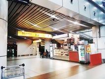 Sikt på KKIA Sabah royaltyfria foton