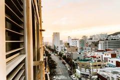 Sikt på Korea Fotografering för Bildbyråer