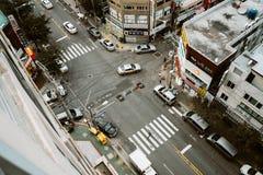 Sikt på Korea Royaltyfria Bilder