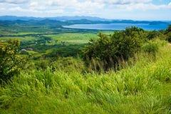 Sikt på kustlinjen Guanacasta Royaltyfri Bild