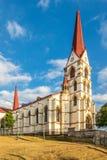 Sikt p? kyrkan av v?r dam av f?rskoning i San Jose - Costa Rica royaltyfri fotografi