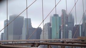 Sikt p? Manhattan och Hudson lager videofilmer