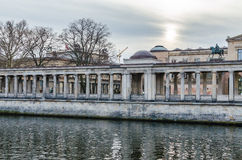 Sikt på museumön i Berlin Royaltyfria Foton