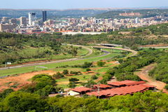Sikt på Pretoria royaltyfria foton