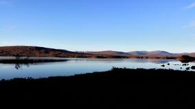 Sikt på sjön Royaltyfria Foton