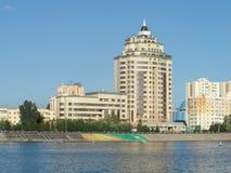 Sikt på staden arkivfoto