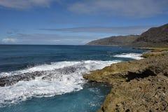 Sikt på Stillahavskusten Arkivbilder