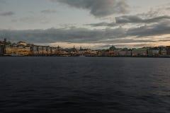 Sikt på Stockholm, Sverige Royaltyfri Foto