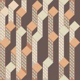 Sikt på abstrakta houseblocks Arkivbilder