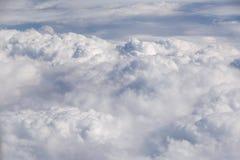 Sikt på moln Royaltyfri Foto