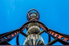 Sikt som ser tornet Fotografering för Bildbyråer