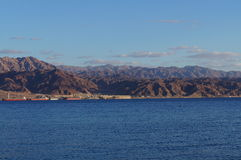 Sikt till Aqaba Royaltyfria Foton