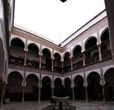 Sikt till Dar Mustapha Pacha Palace, Casbah av Algiers, Algeriet Arkivfoto