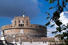 Sikt till den Sanka Angelo Castle Arkivfoton