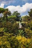Sikt till trädgården Royaltyfri Fotografi