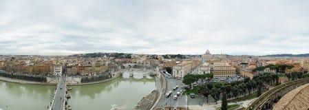 Sikt uppifrån av Sant Angelo Castel Royaltyfri Bild