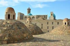Sikten av Bukhara från taket arkivfoton