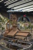 Sikten av det storslagna Maket Ryssland växelverkande museet royaltyfri foto