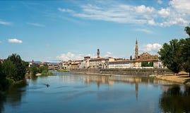 Sikten av Florence, Italien Royaltyfri Fotografi