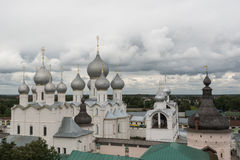 Sikten av kremlinen i Rostov Fotografering för Bildbyråer