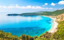 Sikten av stranden Jaz Royaltyfri Bild