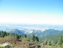 Sikten från berget Royaltyfria Bilder