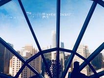 Sikten från Burj Khalifa arkivfoto