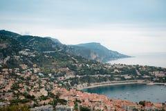 Sikten från kullen på en Nice Royaltyfria Bilder