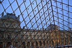 Sikten från luftventils pyramid arkivbilder
