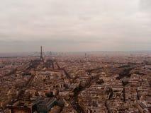 Sikten från Montparnasse Arkivfoton