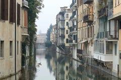 Sikten fr?n Ponte Gregorio Barbarigo i Padua royaltyfri fotografi