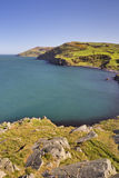 Sikten från Torr Head i nordligt - Irland Royaltyfria Foton
