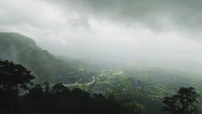 Sikten uppifrån av det Sudhagad fortet royaltyfria bilder