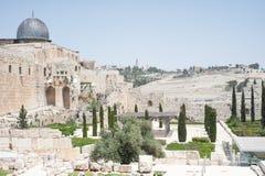 Sikter över Jerusalem Royaltyfri Bild