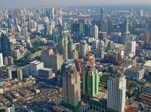 Sikter av Bangkok Arkivfoton