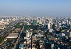 Sikter av Bangkok Baiyoke himmel Royaltyfri Bild