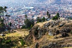 Sikter av Cusco Royaltyfria Bilder