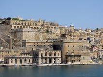 Sikter av den maltesiska ön Royaltyfria Bilder