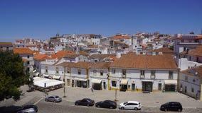 Sikter av den portugisiska staden av Evora Fotografering för Bildbyråer