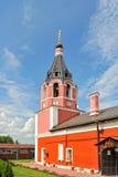 Sikter av gamla hus och kyrkor Royaltyfria Bilder