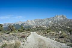 Sikter av Guadarrama berg Royaltyfri Foto
