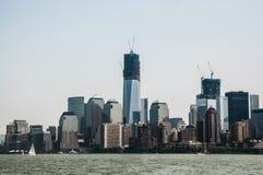 Sikter av Manhattan Arkivfoton