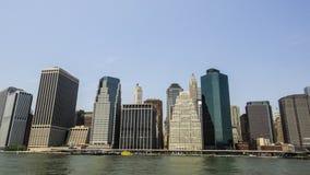 Sikter av Manhattan Royaltyfria Foton