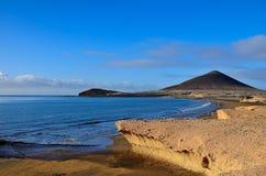 Sikter av monteringen Punta Roja Arkivfoto