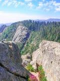 Sikter av Rocky Mountains Royaltyfria Foton