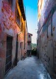 Sikter av Segovia arkivbilder