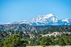Sikter för utsikt Colorado för steniga berg Arkivbild
