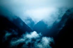 Sikter från Machu Picchu Arkivbilder
